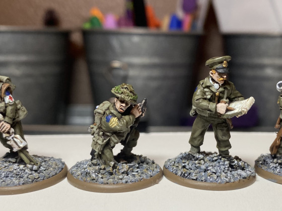 WW2 Canadian Medic, Adjutant, Officer and Radio Operator