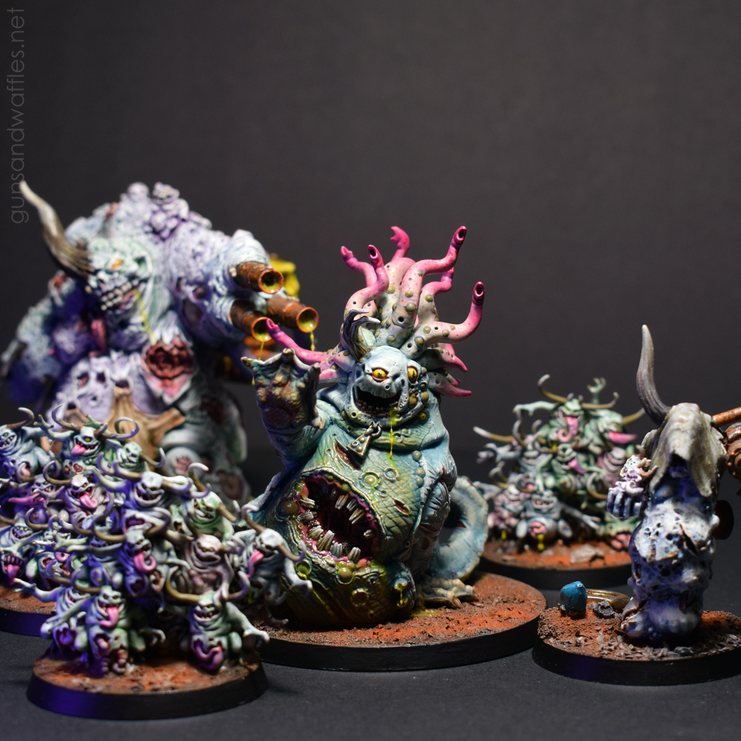 Beast of Nurgle with the rest of the gang